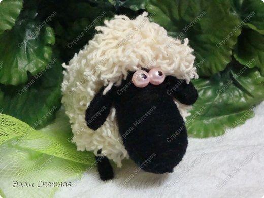 Игрушка Мастер-класс Моделирование конструирование МК- как я делаю овечек Клей Нитки Проволока фото 23