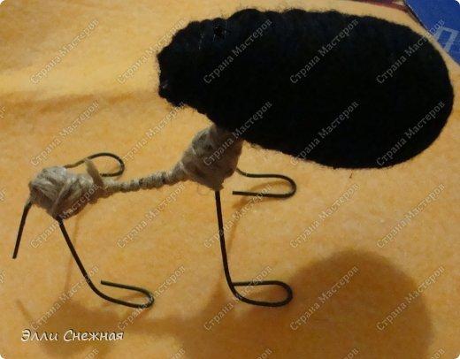 Игрушка Мастер-класс Моделирование конструирование МК- как я делаю овечек Клей Нитки Проволока фото 11