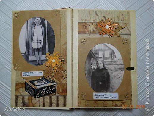 Альбом из книжки. Взяла свои фото от рождения и далее... фото 10