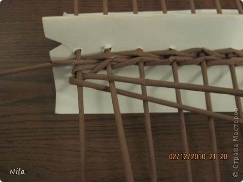 Плетение квадратной (прямоугольной ) коробки Izobrazhenie_079