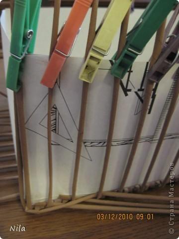 Плетение квадратной (прямоугольной ) коробки Izobrazhenie_089
