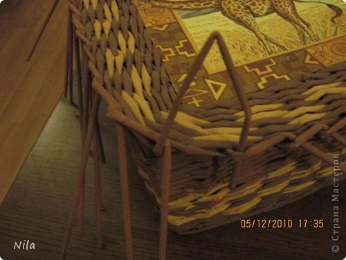 Плетение квадратной (прямоугольной ) коробки Izobrazhenie_108