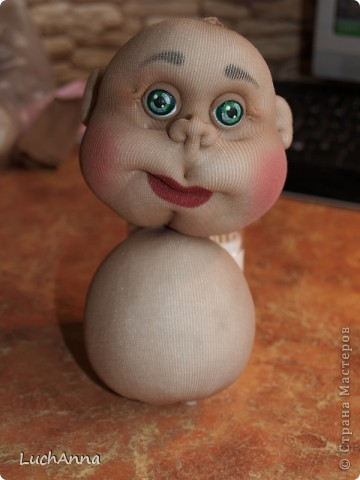 Куклы Мастер-класс Шитьё МК по созданию куклы Замарашка  Часть 2 Капрон фото 4