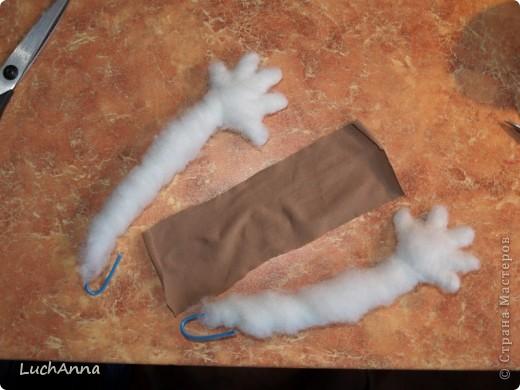 Куклы Мастер-класс Шитьё МК по созданию куклы Замарашка  Часть 2 Капрон фото 16