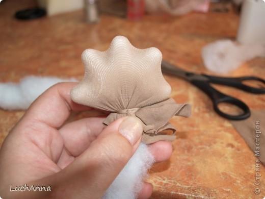 Куклы Мастер-класс Шитьё МК по созданию куклы Замарашка  Часть 2 Капрон фото 18