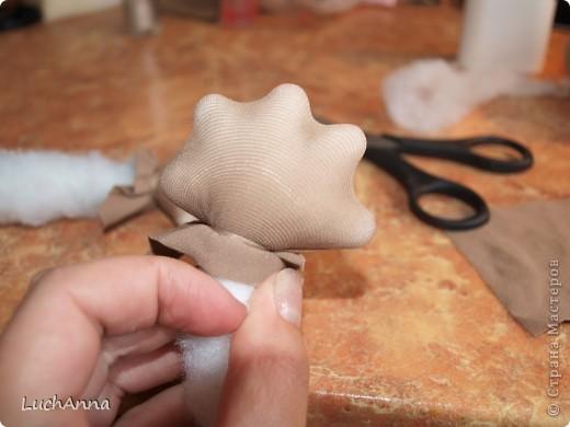 Куклы Мастер-класс Шитьё МК по созданию куклы Замарашка  Часть 2 Капрон фото 19