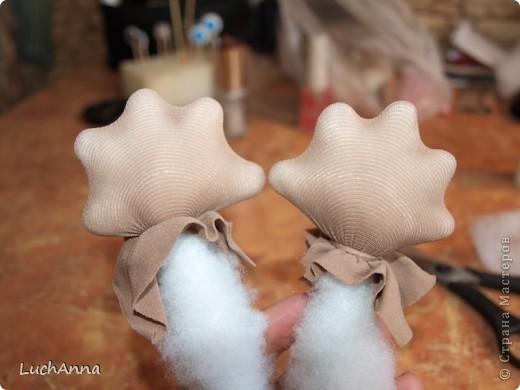 Куклы Мастер-класс Шитьё МК по созданию куклы Замарашка  Часть 2 Капрон фото 21