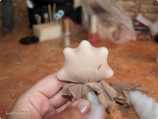 Куклы Мастер-класс Шитьё МК по созданию куклы Замарашка  Часть 2 Капрон фото 22