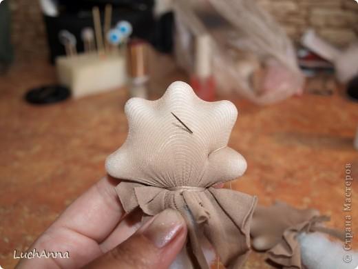 Куклы Мастер-класс Шитьё МК по созданию куклы Замарашка  Часть 2 Капрон фото 23