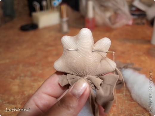 Куклы Мастер-класс Шитьё МК по созданию куклы Замарашка  Часть 2 Капрон фото 24