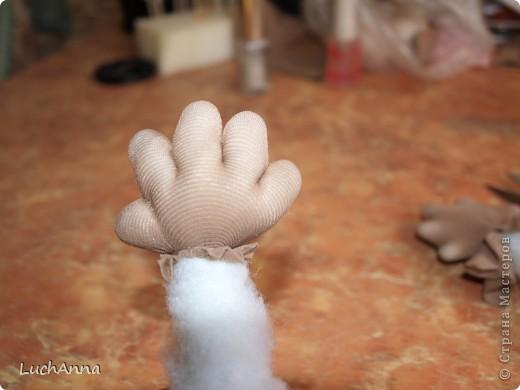 Куклы Мастер-класс Шитьё МК по созданию куклы Замарашка  Часть 2 Капрон фото 25