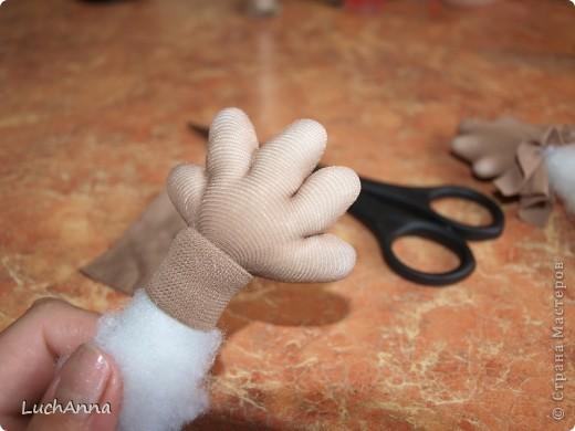 Куклы Мастер-класс Шитьё МК по созданию куклы Замарашка  Часть 2 Капрон фото 27