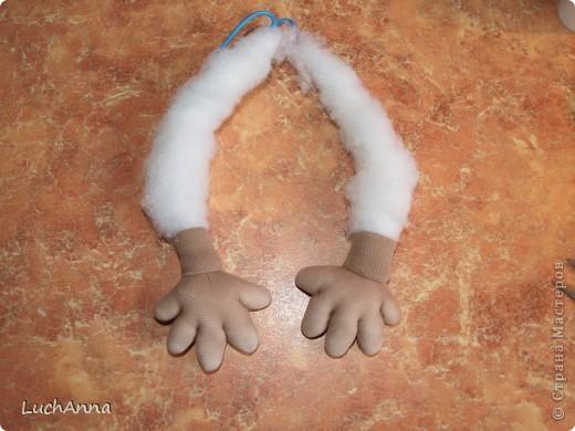 Куклы Мастер-класс Шитьё МК по созданию куклы Замарашка  Часть 2 Капрон фото 29