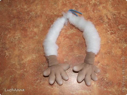 Куклы Мастер-класс Шитьё МК по созданию куклы Замарашка  Часть 2 Капрон фото 30