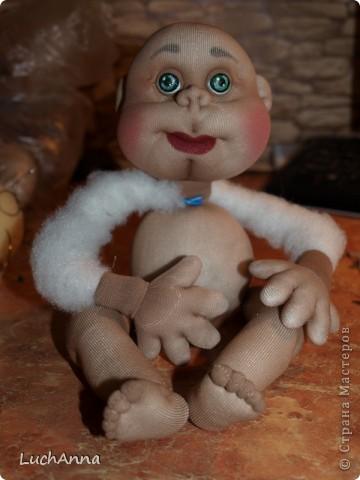 Куклы Мастер-класс Шитьё МК по созданию куклы Замарашка  Часть 2 Капрон фото 42