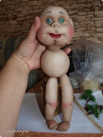 Куклы Мастер-класс Шитьё МК по созданию куклы Замарашка  Часть 2 Капрон фото 45