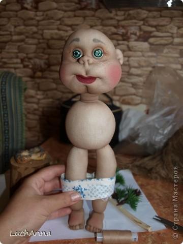 Куклы Мастер-класс Шитьё МК по созданию куклы Замарашка  Часть 2 Капрон фото 75