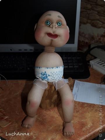 Куклы Мастер-класс Шитьё МК по созданию куклы Замарашка  Часть 2 Капрон фото 76
