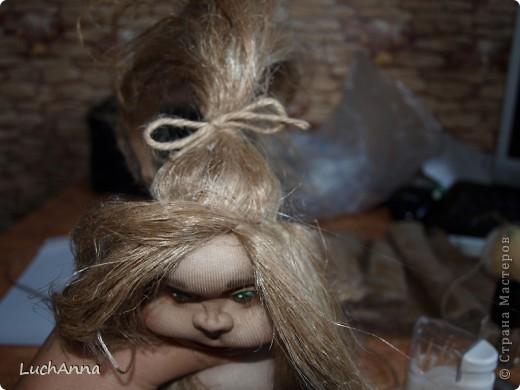 Куклы Мастер-класс Шитьё МК по созданию куклы Замарашка  Часть 2 Капрон фото 83