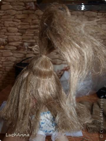 Куклы Мастер-класс Шитьё МК по созданию куклы Замарашка  Часть 2 Капрон фото 84