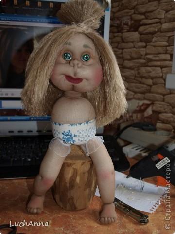 Куклы Мастер-класс Шитьё МК по созданию куклы Замарашка  Часть 2 Капрон фото 85