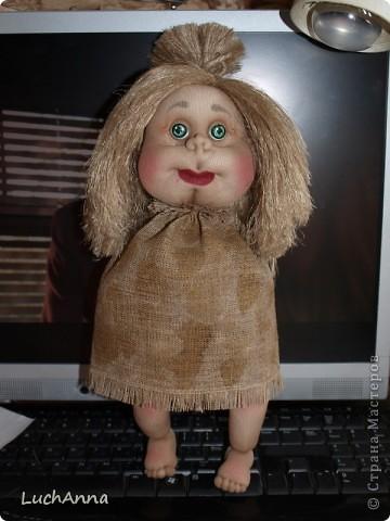 Куклы Мастер-класс Шитьё МК по созданию куклы Замарашка  Часть 2 Капрон фото 87