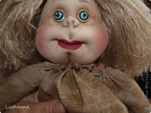 Куклы Мастер-класс Шитьё МК по созданию куклы Замарашка  Часть 2 Капрон фото 89