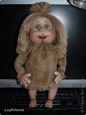 Куклы Мастер-класс Шитьё МК по созданию куклы Замарашка  Часть 2 Капрон фото 90