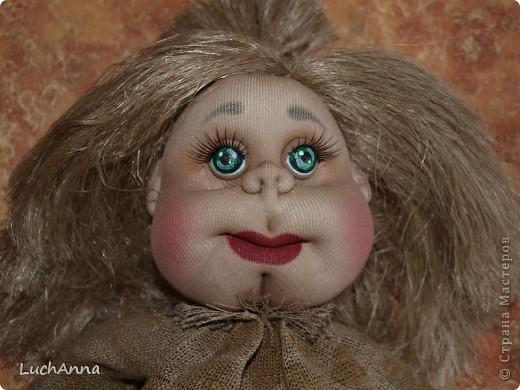 Куклы Мастер-класс Шитьё МК по созданию куклы Замарашка  Часть 2 Капрон фото 92