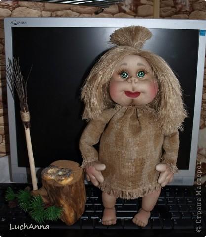 Куклы Мастер-класс Шитьё МК по созданию куклы Замарашка  Часть 2 Капрон фото 1