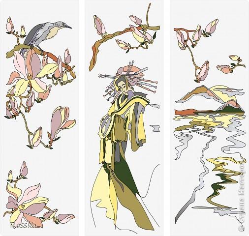 Декор предметов Мастер-класс Витраж Роспись Роспись вазы глухими витражными красками Краска Стекло фото 29