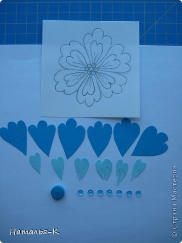 Мастер-класс Бумагопластика Цветы Картон фото 2