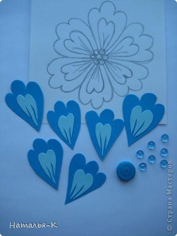 Мастер-класс Бумагопластика Цветы Картон фото 3