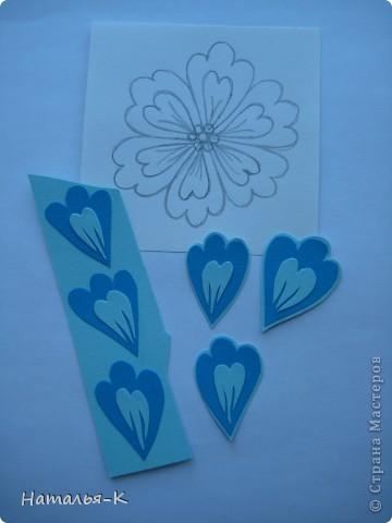 Мастер-класс Бумагопластика Цветы Картон фото 4