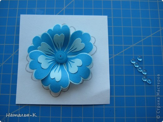 Мастер-класс Бумагопластика Цветы Картон фото 8
