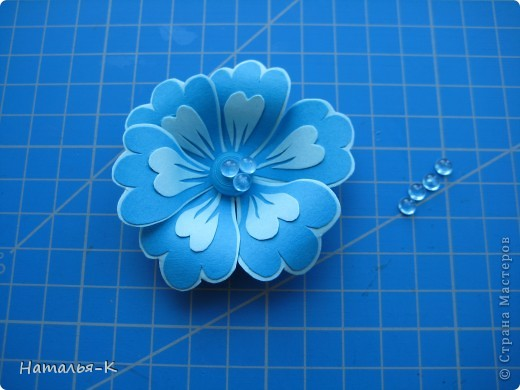 Мастер-класс Бумагопластика Цветы Картон фото 9