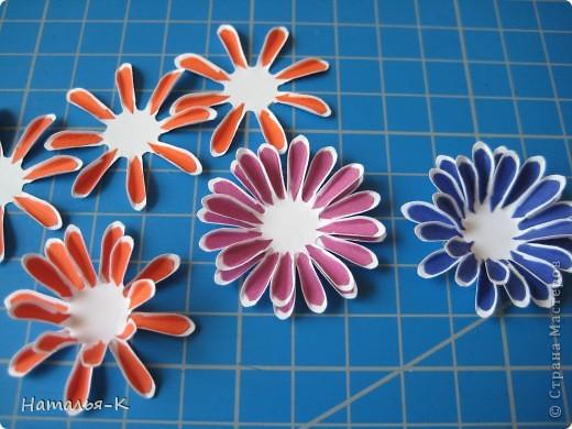 Мастер-класс Бумагопластика Цветы Бумага фото 10