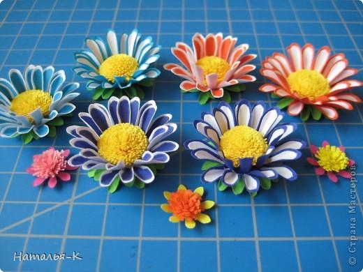 Мастер-класс Бумагопластика Цветы Бумага фото 17