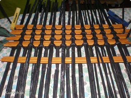 Плетение квадратного дна 10