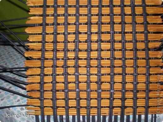 Плетение квадратного дна 12