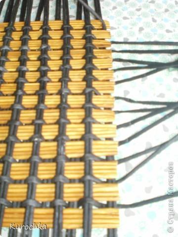 Плетение квадратного дна 13