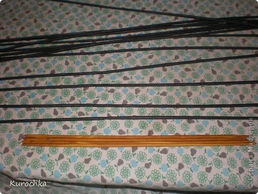 Плетение квадратного дна 6
