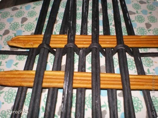 Плетение квадратного дна 8