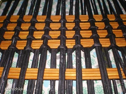 Плетение квадратного дна 9