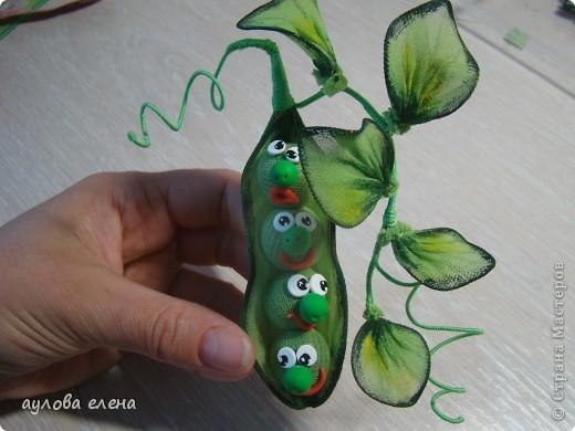 Мастер-класс Шитьё Горошек  магнит на холодильник Капрон Проволока фото 21