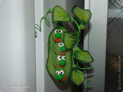 Мастер-класс Шитьё Горошек  магнит на холодильник Капрон Проволока фото 1