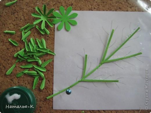 Мастер-класс Бумагопластика Квиллинг Цветы - ромашки Бумага фото 11