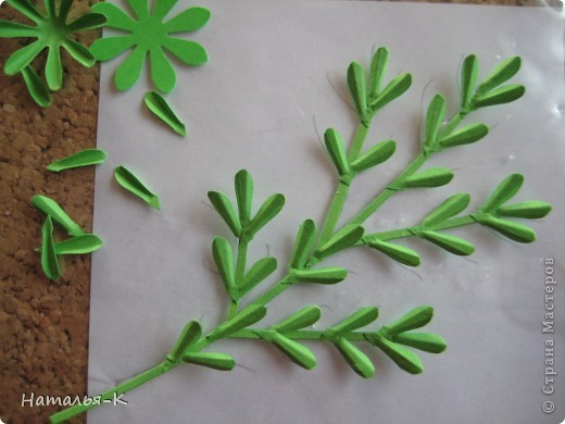 Мастер-класс Бумагопластика Квиллинг Цветы - ромашки Бумага фото 13