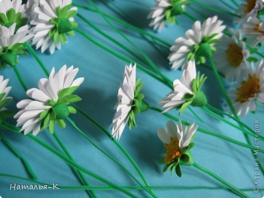Мастер-класс Бумагопластика Квиллинг Цветы - ромашки Бумага фото 4