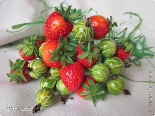 Мастер-класс Лепка Выращиваем соленые ягодки МК Тесто соленое фото 1